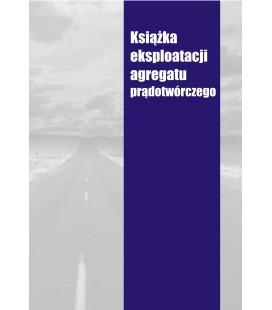 Książka eksploatacji agregatu prądotwórczego K-AGREGATU