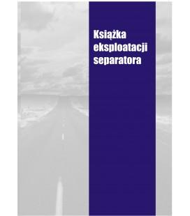Książka eksploatacji separatora K-SEPAR