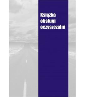 Książka obsługi oczyszczalni K-OCZYSZCZ