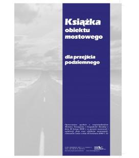Książka tunelu dla przejścia podziemnego K-PRZEJŚCIE